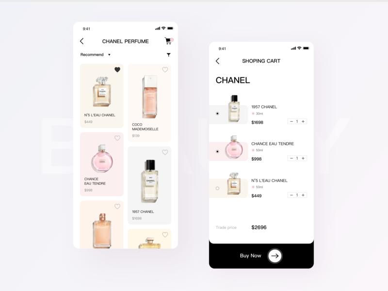 Beauty makeup app by Yu xiaoyu | Dribbble | Dribbble