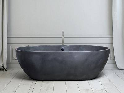 Ab.Sto.127.02.At.At  Stone One Tadelakt tadelakt wellness freestanding design bath aquamass aquadesign