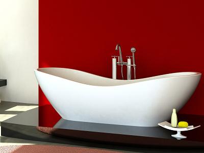 Ab.Aqu.000.01.Bm.Bm  Baignoire Aquamar lahlou freestanding design bath aquamass aquadesign