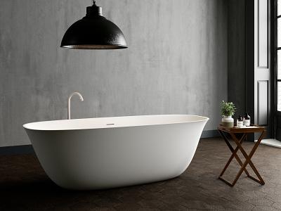 Ab.Cal.100.01.Bm.Bm Acquadesign Calice freestanding design bath aquamass aquadesign
