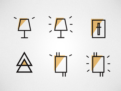 Custom Electrical Icon Set