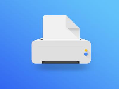 Printer Illustration