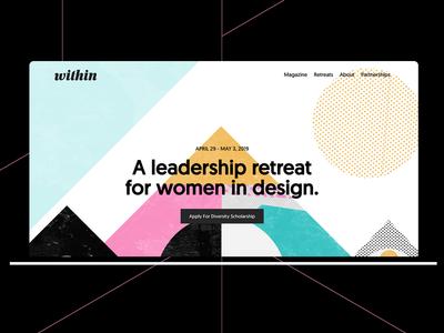 Within Women's retreat artwork