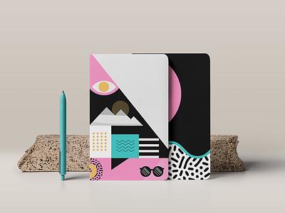 Within Journal Ideas print identity geometric illustration flat simple