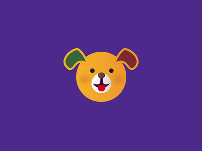This is Ivo puppy logo branding