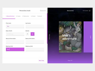 An adventure in picture books web personalization picture books