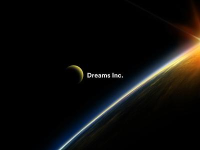 Dreaming Dreams Inc. branding fake