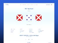404 in maritime signal flags, sailor!