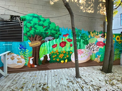 Bloomer's Mural