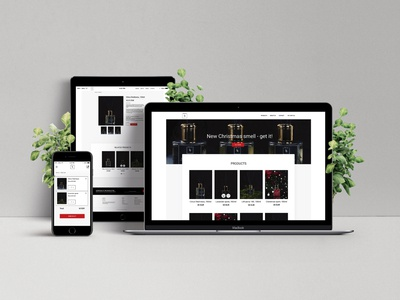 'We are' e-shop design