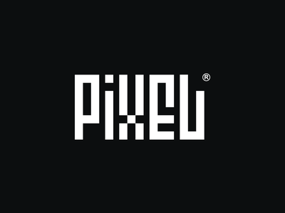 Pixel Logo graphic design branding mark marca design logomark logotype logotipo logo