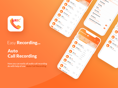 UI Kit For Auto Call Recorder