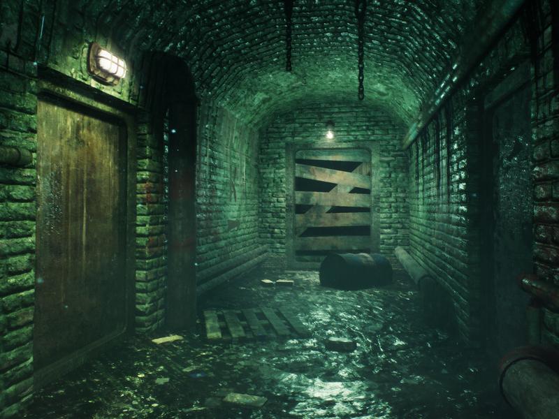 Dark Sewage - UE4 by Saman Kazemi on Dribbble