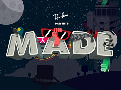 MADE ray-ban game html5 phaser animation illustration mobile