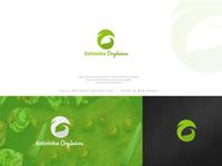 Logo for organic food