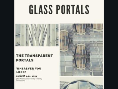 Glass portals