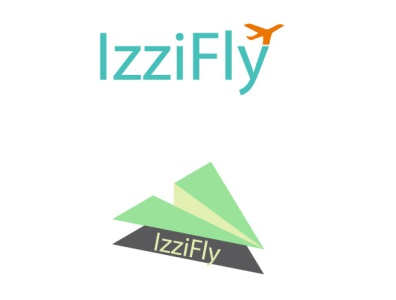Izzifly ö-o Logo sketching