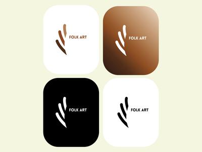 Logo - folk art