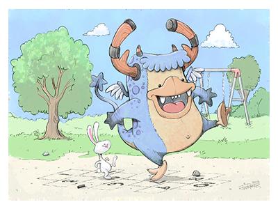 Hopscotch: Monstas and Bunni