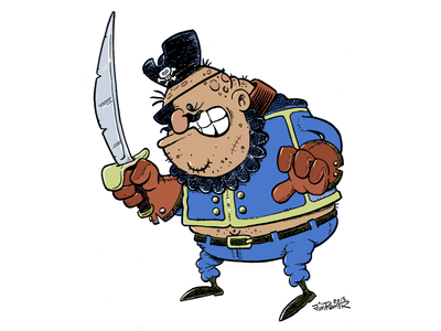 Capt Billy Button (Character Design)