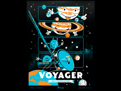 Kids Space Voyager - Poster Series (1 of 3)