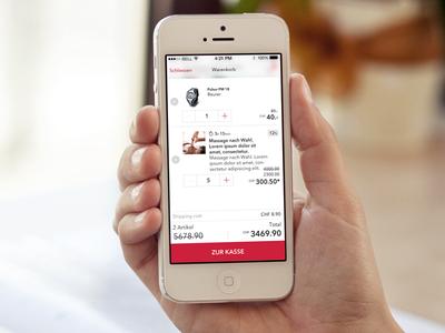 Iphone Shopping Cart IOS