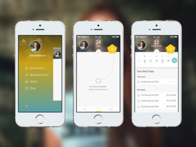 Sceptre Medical App - Dashboard