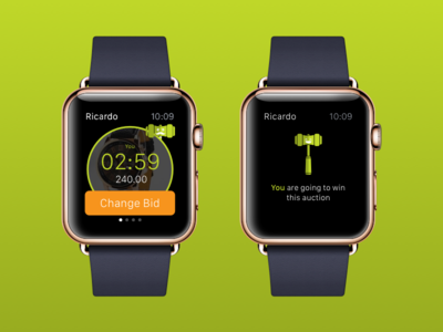 Apple Watch Heighest Bidder