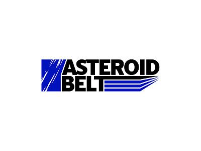 Asteroid Belt Logo typedesign type typeface vector branding logotype logo design logo