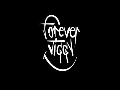 Forever Jiggy Logo vector lettering logo lettering custom lettering design brand design logotype branding logo design logo