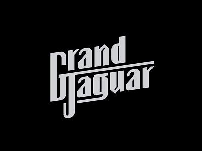 Grand Jaguar Logo brand design lettering custom lettering branding design logotype logo design logo