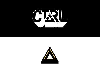 CTRL Logo brand design custom lettering logotype logomark branding logo design logo
