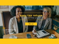 Landing Page for Tax Refund Website