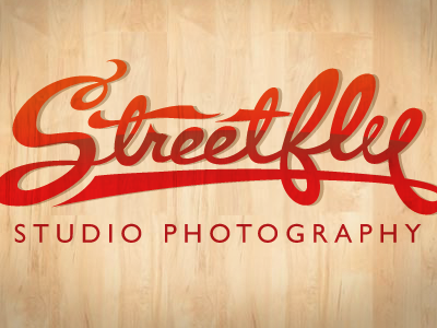 Streetfly Logotype streetfly logotype custom script coca-cola