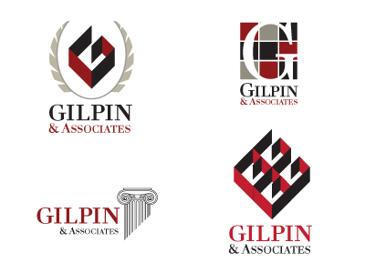 Gilpin Associates gilpin logos commercial real estate letter g
