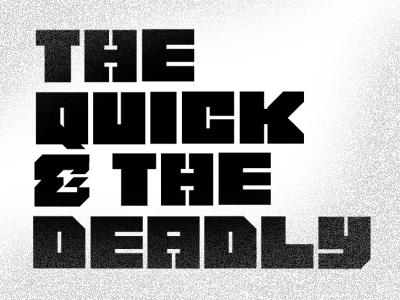 Thrilla Typeface (Uppercase) thrilla type typface uppercase