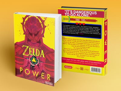 Zelda Hardcover Book Mockup