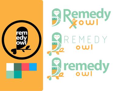 Remedy Owl Mark and Logo/Text