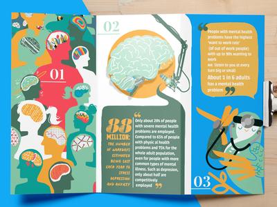 Tri Fold Brochure Mock Up For Remedy Owl