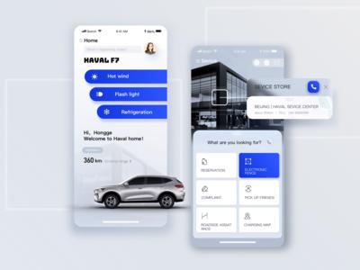 Car App Ui Design