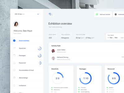 ntf dashboard blue flat dashboard web ui ux