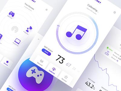net app app ios flat ux ui