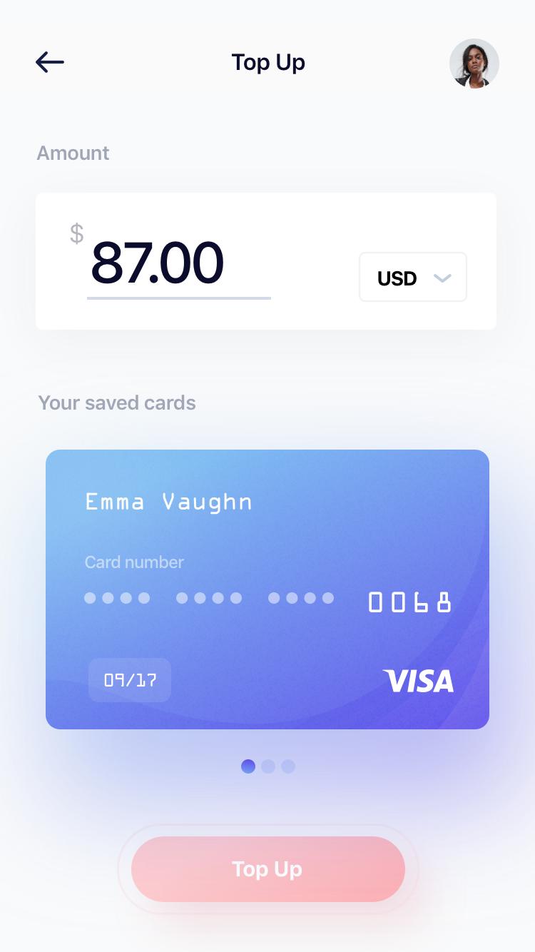 Wallet top up 2x