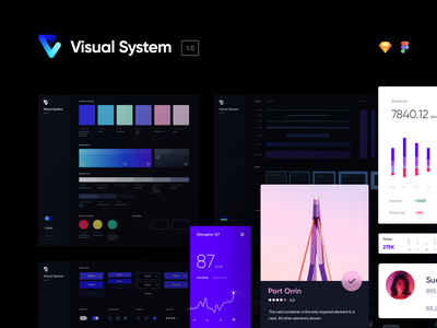 Introducing Visual System 1.0 ui kit design system visual system