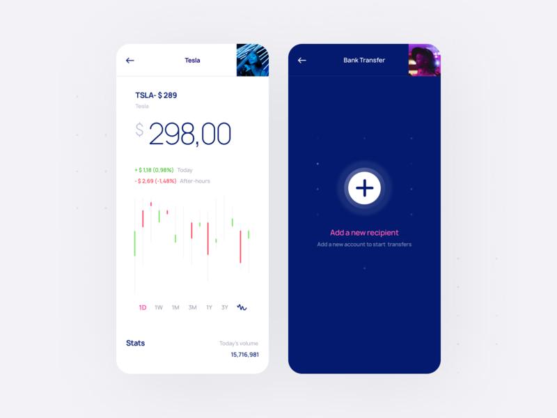 Relevant UI Kit add chart finance crypto fintech app ux ui