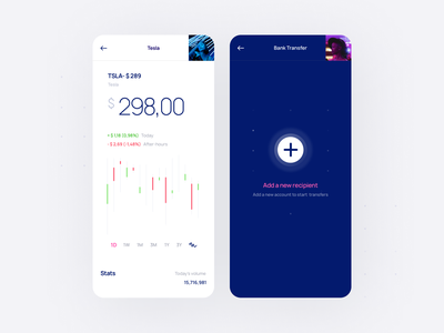 Relevant UI Kit add chart finance crypto fintech app ux ui