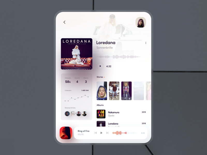 player - fold concept concept mate x fold galaxy fold music music player music app