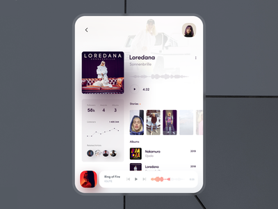 player - fold concept concept mate x fold galaxy fold music music player music app