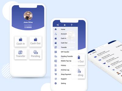 Money Transfer Mobile App Design