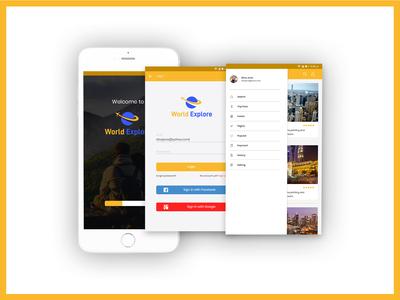 Protfolio Travel App